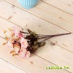 Bình gốm chim và hoa đẹp tại LaDora trang trí phòng khách