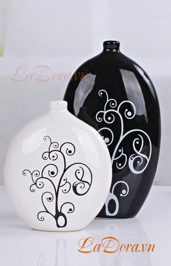 Bình gốm trang trí hiện đại mang Phong cách trẻ trung hiện đại và năng động