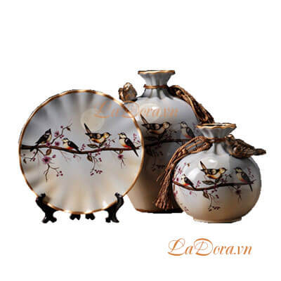 đồ trang trí bình gốm tại Ladora.vn