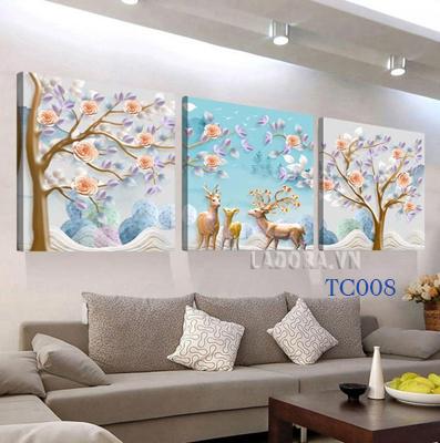 tranh treo tường trang trí nhà tại ladora.vn