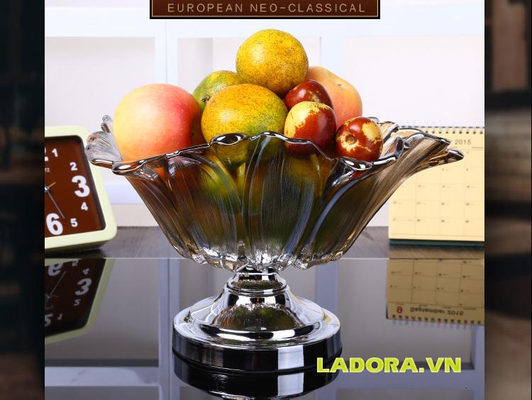 đĩa trái cây sang trọng tại shop bán đồ decor nhà ở hà nội ladora