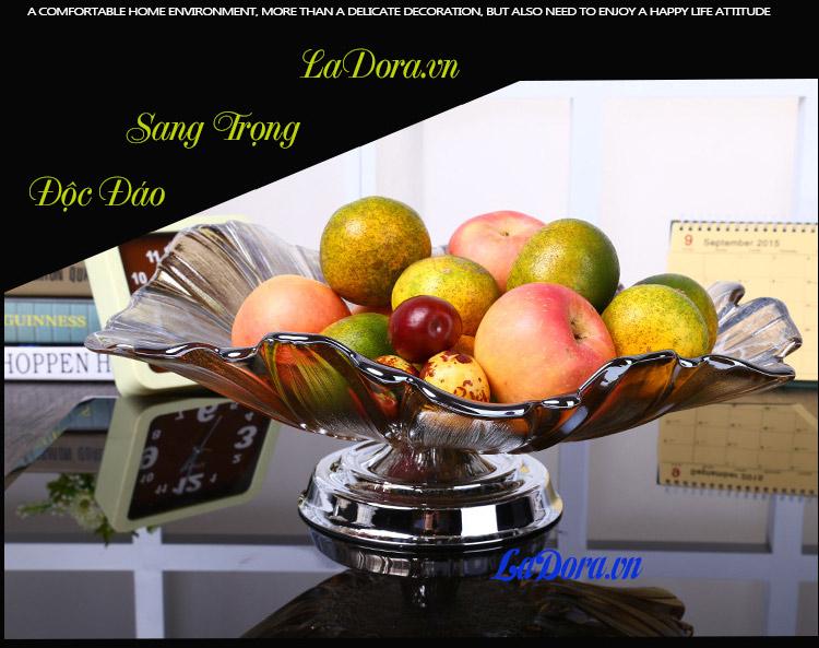 đĩa trái cây độc đáo tại shop bán đồ trang trí nhà đẹp ở hà nội ladora