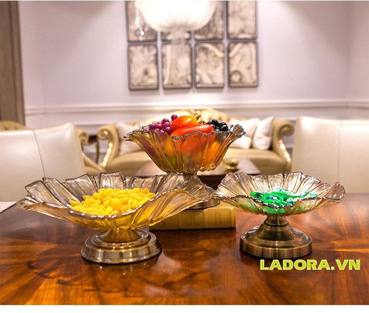 đĩa đựng hoa quả trang trí tại Ladora.vnđĩa đựng hoa quả trang trí tại Ladora.vn