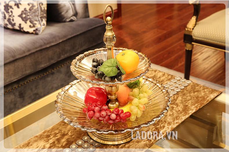 đĩa hoa quả trang trí bàn tại Ladora.vn