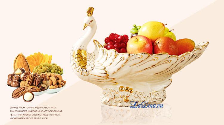 trái cây trở nên thơm ngon trên đĩa - ladora shop đồ decor đẹp ở hà nội