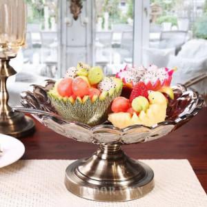 đĩa đựng hoa quả đẹp tại shop bán đồ trang trí nhà ở hà nội ladora