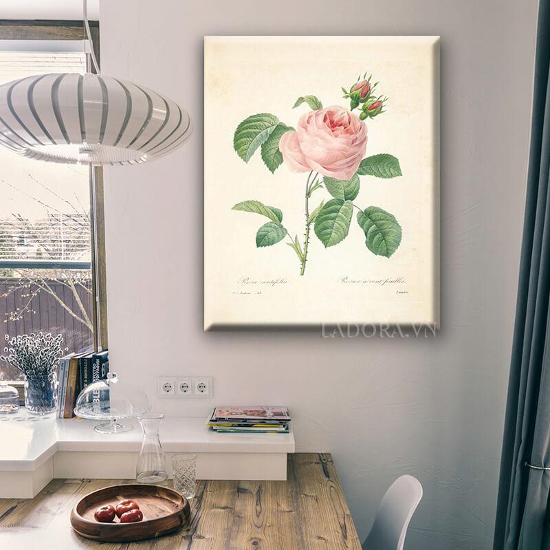 tranh treo tường hoa hồng tại ladora