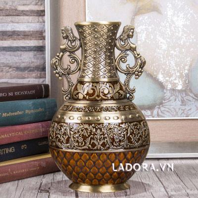 bình hoa trang trí châu Âu cổ điển tại ladora.vn