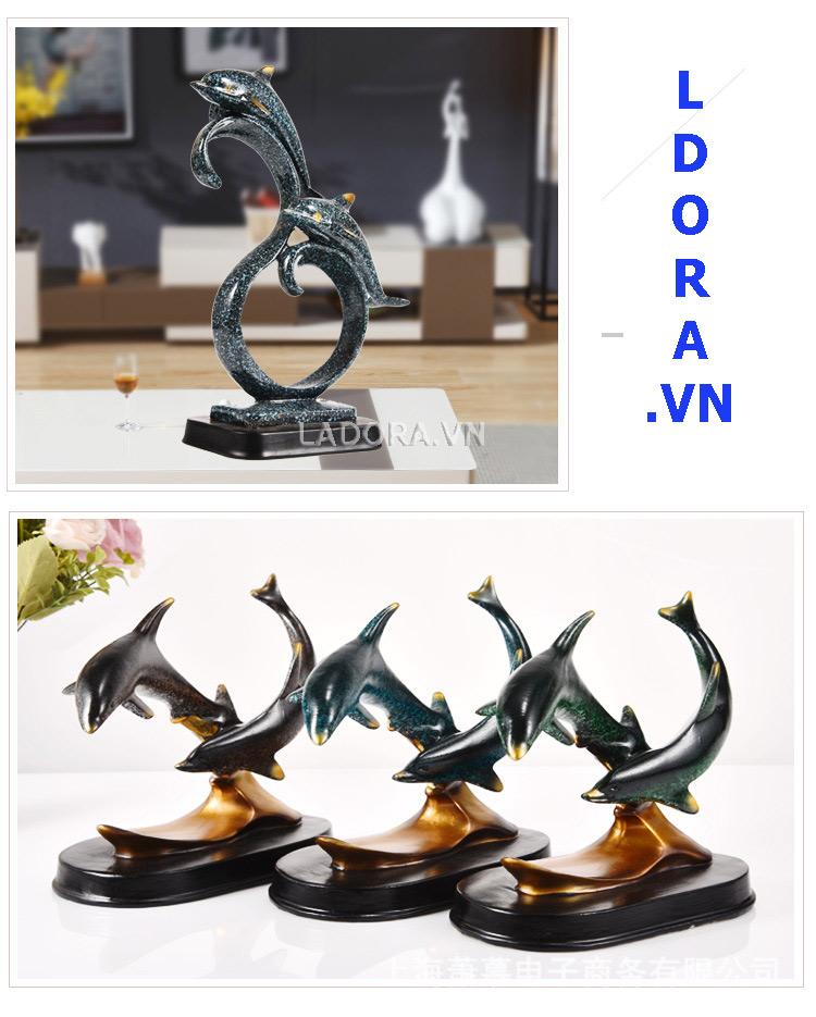 tượng con vật trang trí bàn tại cửa hàng bán đồ trang trí nhà đẹp ladora