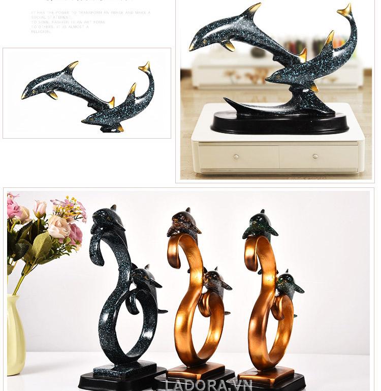 tượng con vật trang trí bàn làm việc tại cửa hàng bán đồ trang trí nội thất nhà đẹp ladora