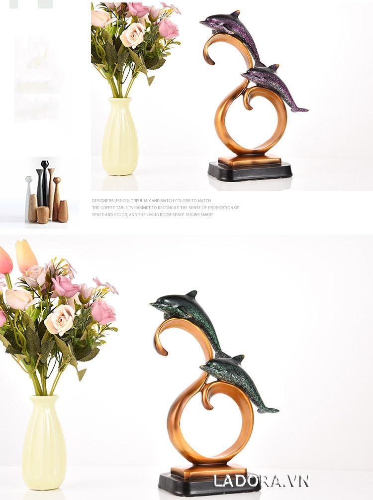 tượng con vật trang trí bàn tại shop bán đồ trang trí nhà đẹp ladora