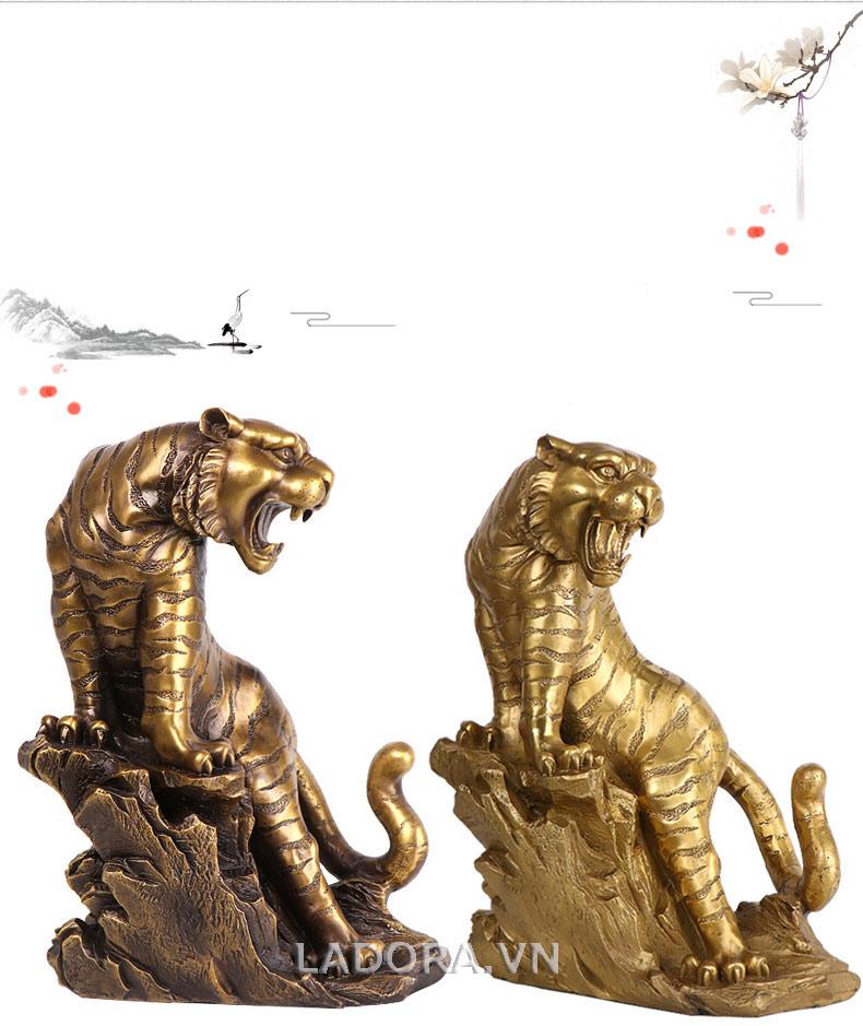 tượng hổ bằng đồng tại ladora shop