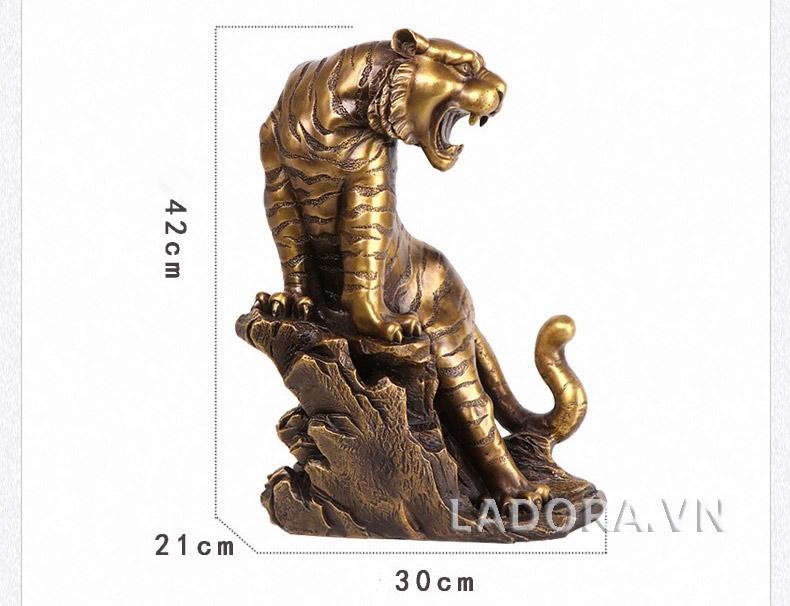 kích thước tượng con hổ tại ladora shop