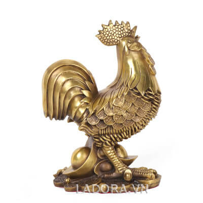 tượng gà phong thủy tại ladora