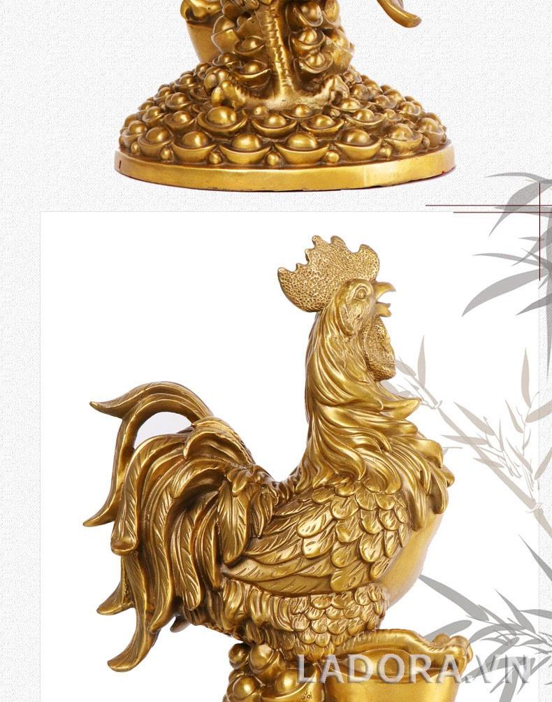 tượng gà đem lại tài lộc tại ladora shop