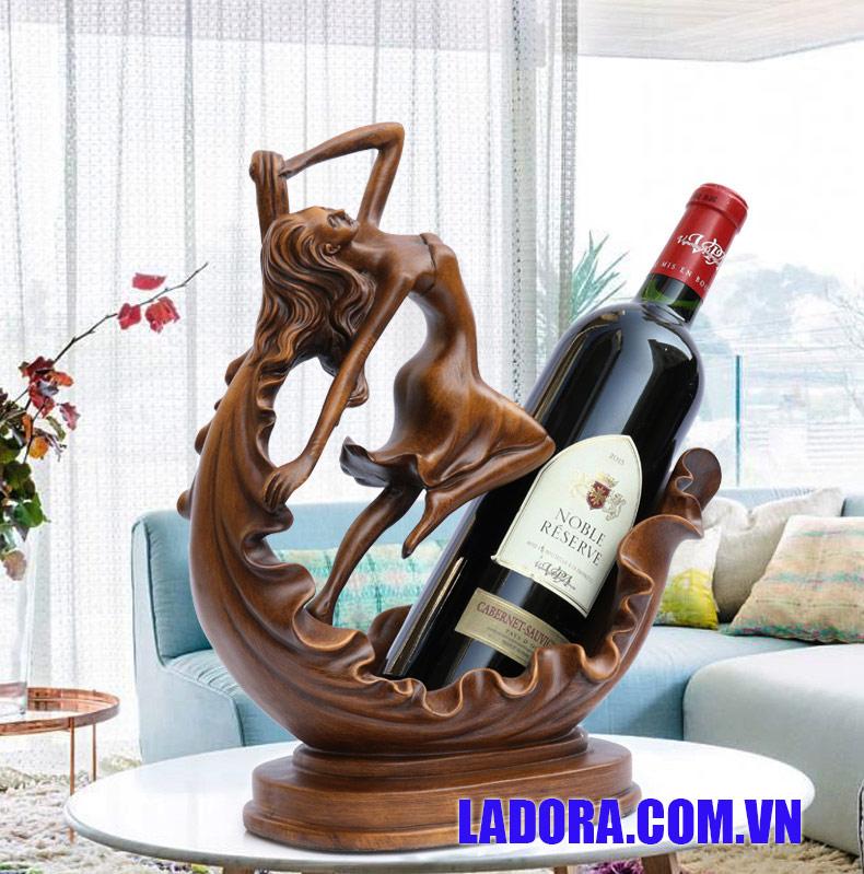 giá đựng rượu vang tại ladora shop bán đồ trang trí nhà ở hà nội