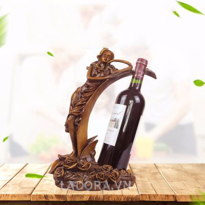 giá đựng rượu vang sang trọng tại ladora shop