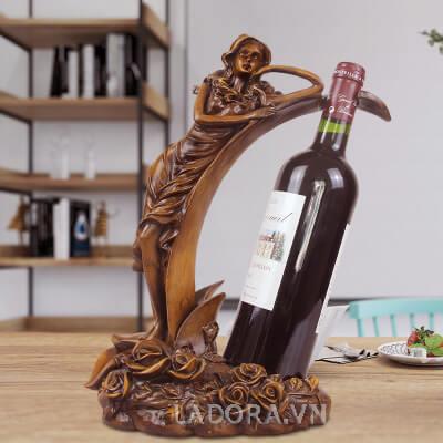 giá để rượu vang độc đáo tại ladora shop