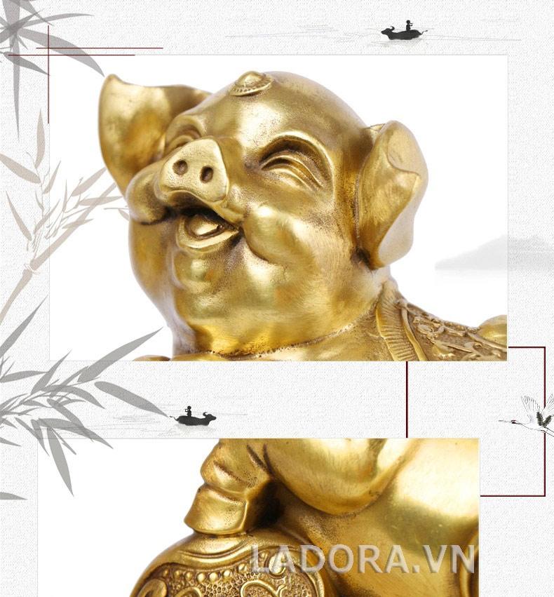tượng lợn làm quà tặng, quà biếu ý nghĩa
