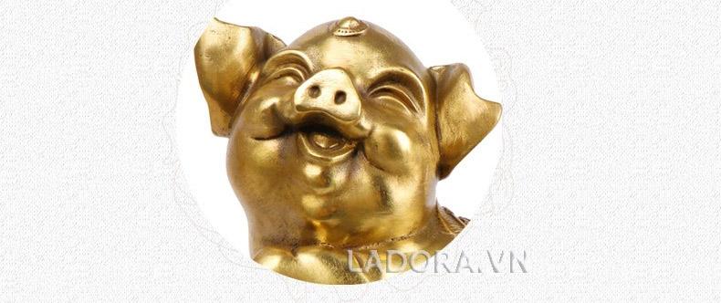 hình ảnh tượng con lợn đáng yêu tại ladora