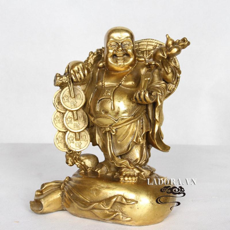 tượng Phật di lặc làm quà tặng khai trương ý nghĩa tại ladora
