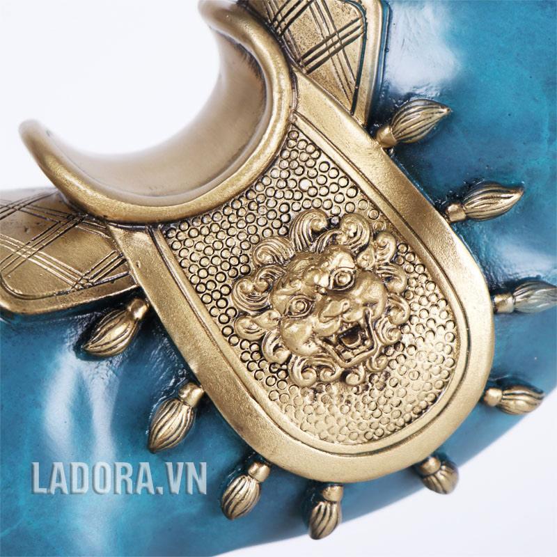 tượng ngựa bằng đồng tại ladora được đúc thủ công tinh xảo