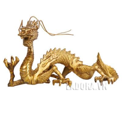tượng rồng để bàn bằng đồng tại ladora shop
