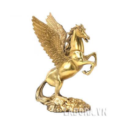 tượng ngựa để bàn làm việc đẹp tại ladora shop