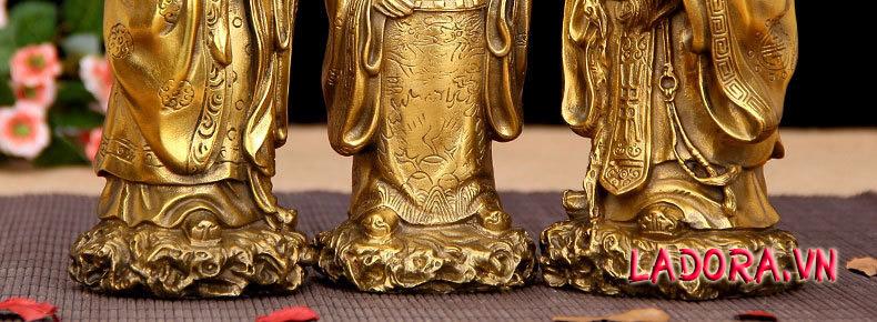 tượng 3 ông phúc lộc thọ tại ladora đem lại may mắn tài lộc