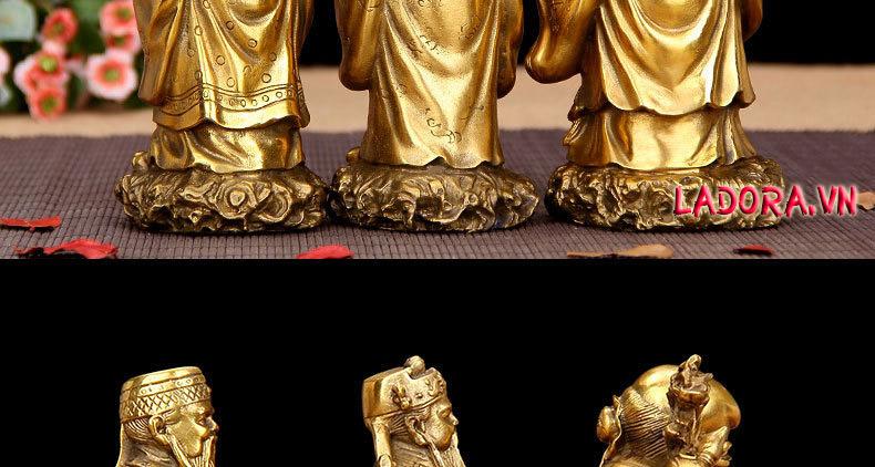 tượng 3 ông phải được đặt cạnh nhau