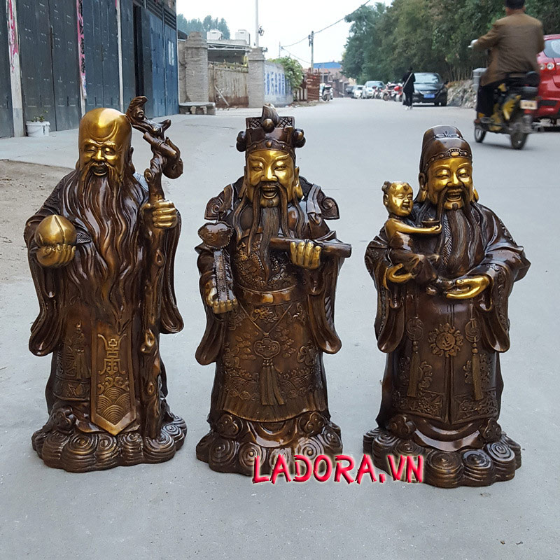 3 ông phúc lộc thọ được người đời tôn vinh làm thần tiên