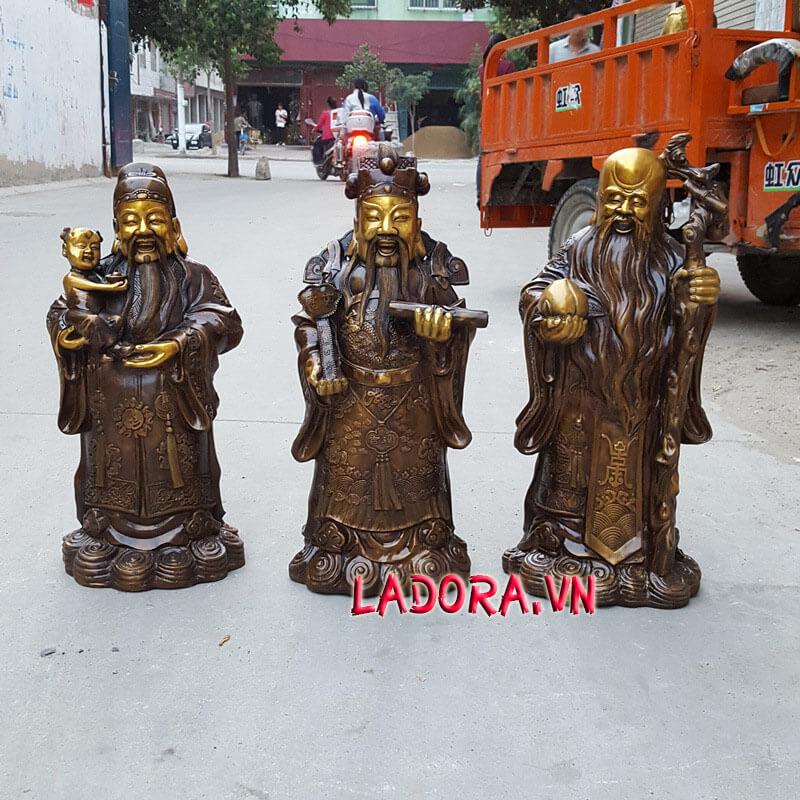 tượng 3 ông phúc lộc thọ tại ladora shop