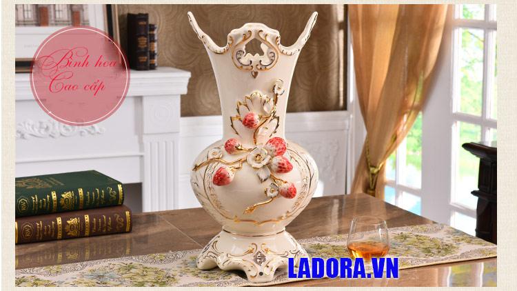 bình gốm sứ trang trí đẹp tại shop bán đồ trang trí nhà ở hà nội ladora