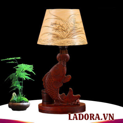 đèn ngủ để bàn tại shop bán đồ trang trí nhà đẹp ở hà nội ladora