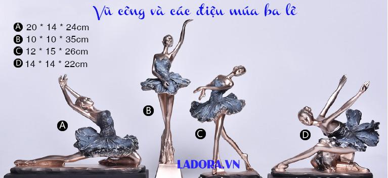 quà mừng sinh nhật cho nữ vũ công múa ba lê tại ladora shop