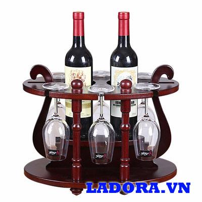 giá treo ly rượu vang sang trọng tại ladora cửa hàng bán đồ decor đẹp ở hà nội