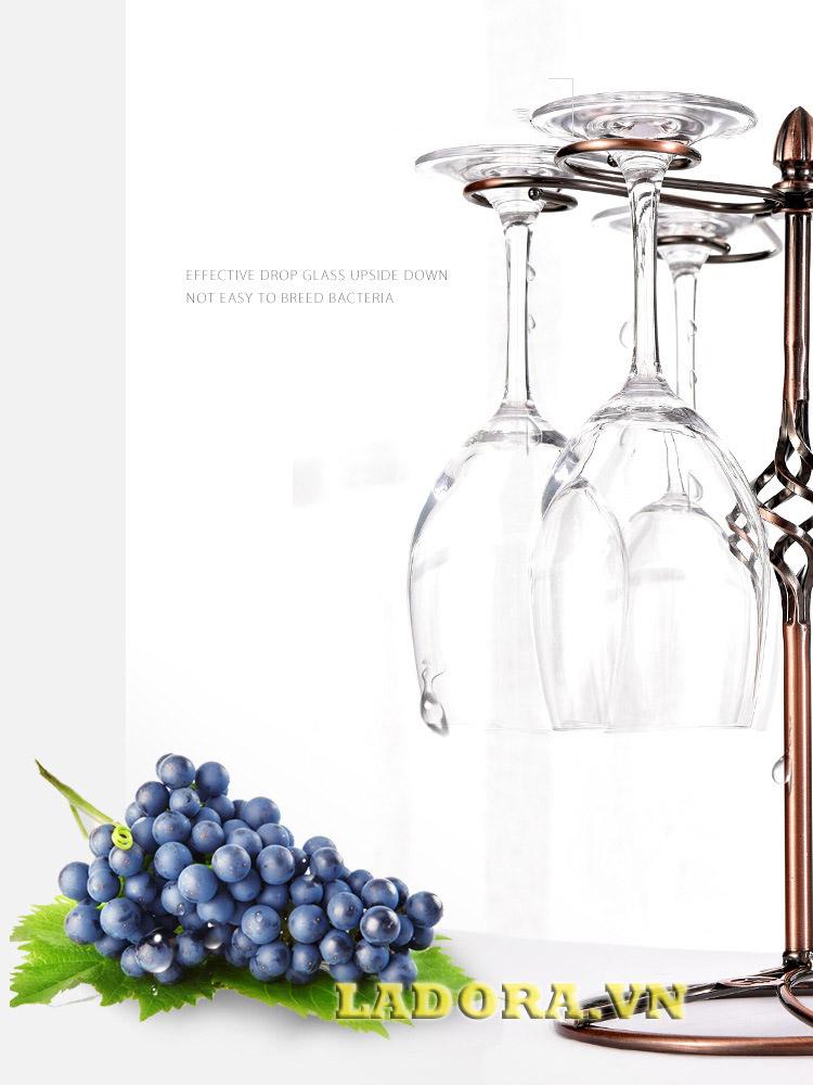 giá treo ly ko thể thiếu cho những người yêu rượu vang - ladora shop