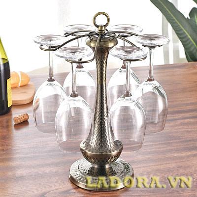 giá treo ly rượu vang tại ladora shop