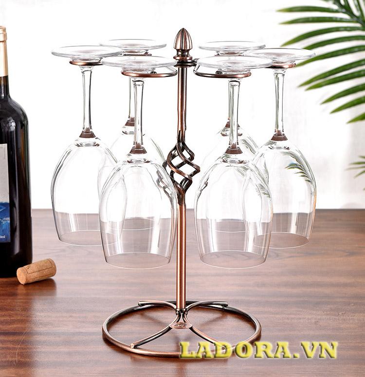 giá để ly rượu vang đẹp tại ladora shop