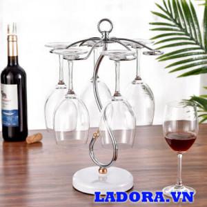 giá treo ly rượu đẹp tại shop bán đồ trang trí nhà đẹp ladora