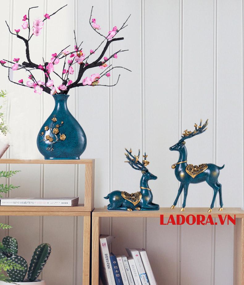Hoa mai trang trí nhà đẹp - ladora shop