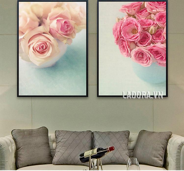 tranh treo tường phòng ngủ, phòng khách tại shop bán đồ trang trí nhà đẹp ở hà nội ladora