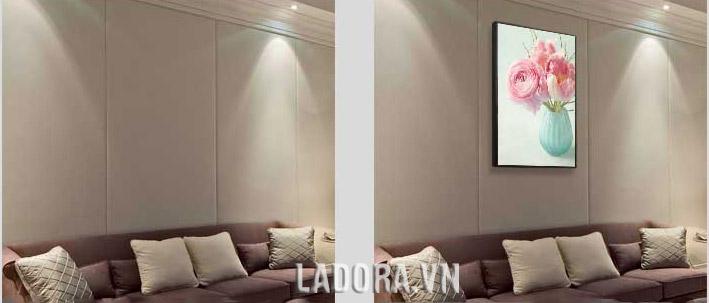 tranh treo tường phòng ngủ tại ladora shop bán đồ decor nhà đẹp ở hà nội ladora