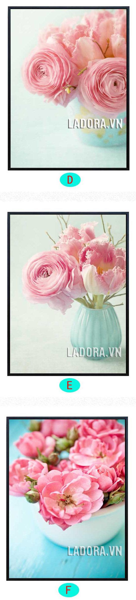 tranh hoa đẹp tại ladora shop bán đồ trang trí nhà ở hà nội ladora