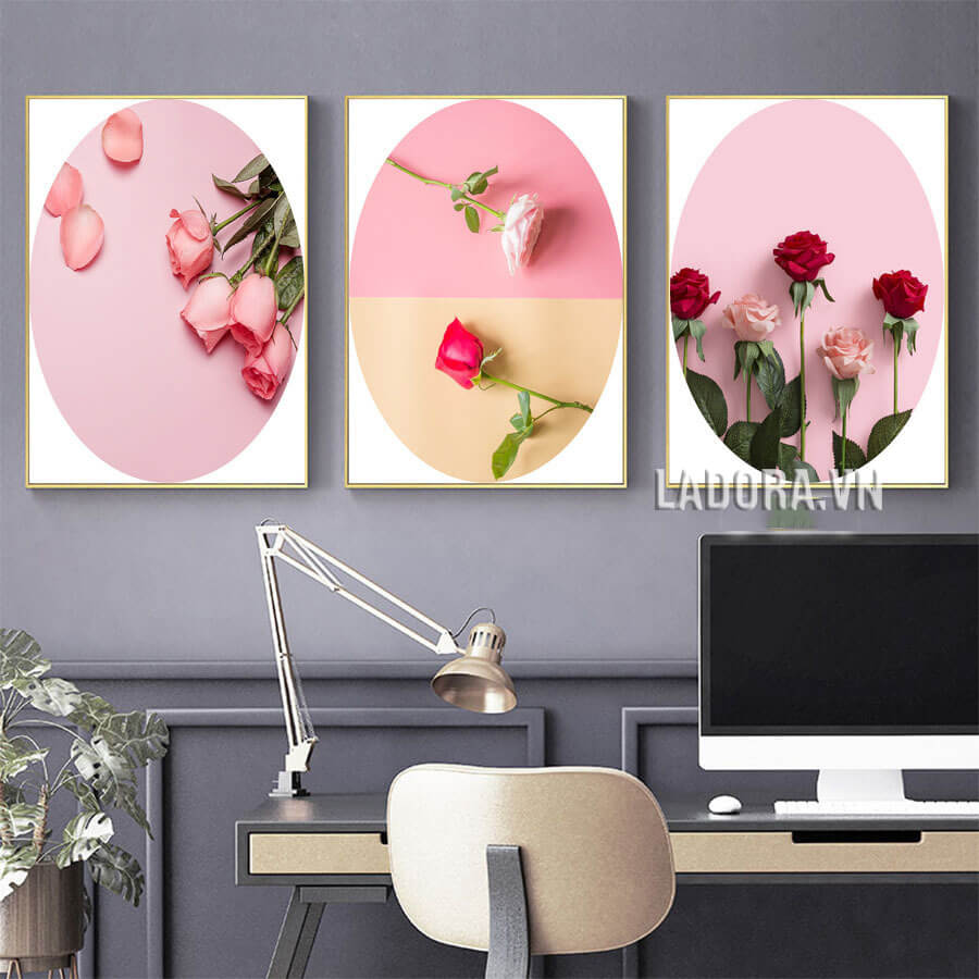 tranh canvas treo tường phòng ngủ tại shop bán đồ trang trí nhà đẹp ở hà nội ladora