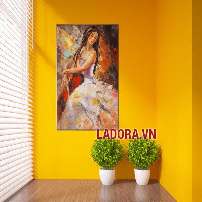 tranh treo tường phòng khách phòng ngủ tại shop đồ decor ở hà nội ladora