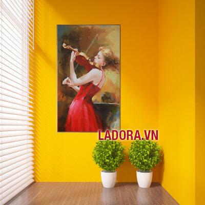 tranh treo phòng khách đẹp nhất tại shop bán đồ trang trí nhà ở hà nội ladora