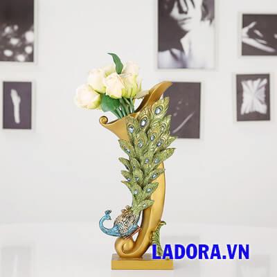 bình hoa để bàn tại shop bán đồ trang trí nhà ở hà nội ladora