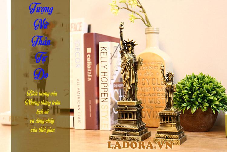 tượng nữ thần tự do tại shop bán đồ decor nhà đẹp ở hà nội ladora