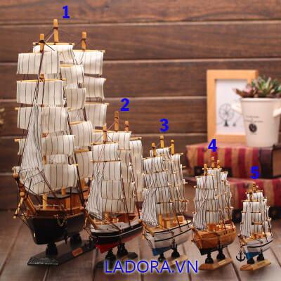 đồ trang trí nội thất nhà đẹp chiếc thuyền buồm tại ladora shop